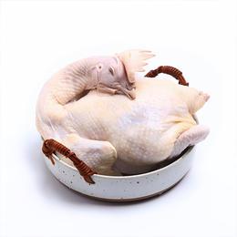 郧阳鲍峡农家散养土母鸡净重2.7-3.2斤左右