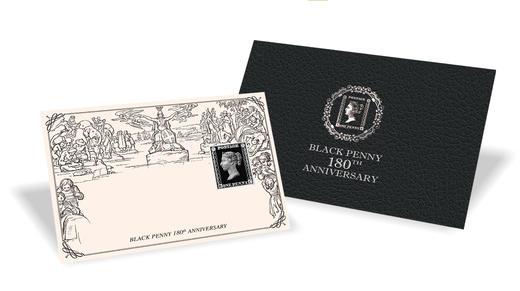 邮票诞生180周年黑便士纪念币 商品图5