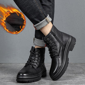 YMLXY7819新款男士潮流时尚气质加绒保暖高帮马丁靴TZF