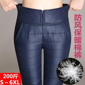 HT-6193新款时尚气质高腰加绒加厚保暖小脚裤TZF