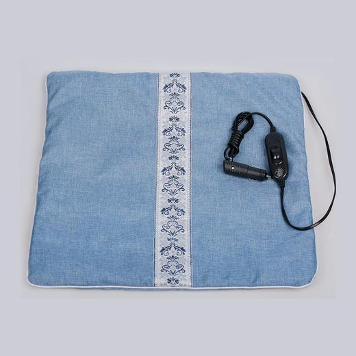 【张湾区】艾叶艾绒养生坐垫电加热坐垫 车用、家用、办公室久坐常备 商品图0