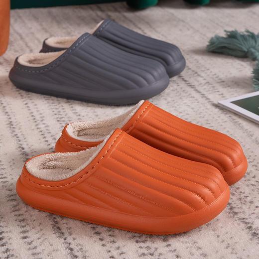 PDD-SD201129外穿防水EVA毛绒滑情侣棉拖鞋TZF 商品图9