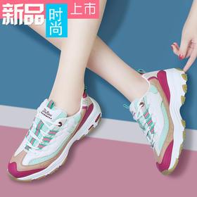 MLKL9742新款时尚气质网面透气休闲运动鞋TZF