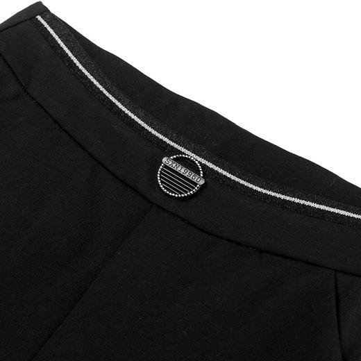DM9187新款时尚气质休闲弹力高腰垂感微喇裤TZF 商品图4