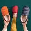 PDD-SD201129外穿防水EVA毛绒滑情侣棉拖鞋TZF 商品缩略图1