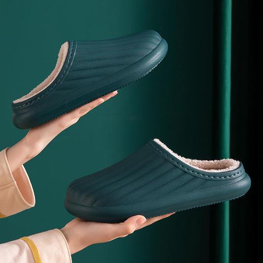 PDD-SD201129外穿防水EVA毛绒滑情侣棉拖鞋TZF 商品图8