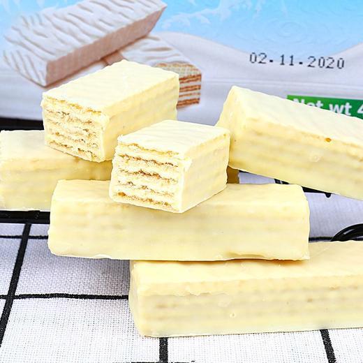 [俄罗斯口味冰淇淋威化饼干]口感轻弹不甜腻  松脆溢香  408g*1盒装 商品图0