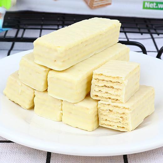 [俄罗斯口味冰淇淋威化饼干]口感轻弹不甜腻  松脆溢香  408g*1盒装 商品图3