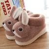 PDD-ASJJX201130冬季儿童居家可爱卡通兔包跟棉鞋TZF 商品缩略图1