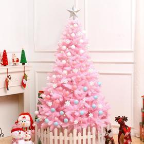 【装饰品】*圣诞节礼物1.2/1.5米樱花粉色圣诞树套餐豪华加密圣诞树装饰 | 基础商品