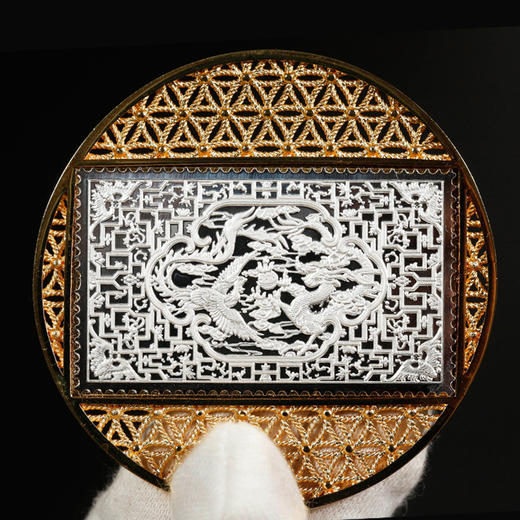 故宫邮票花丝纪念银章(四枚) 商品图4