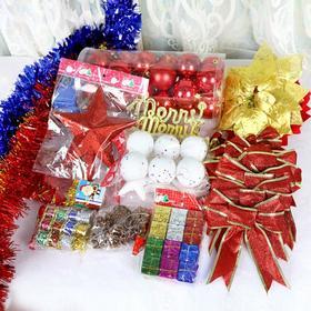 【装饰】*圣诞树装饰配件 圣诞树挂件套餐树配饰 | 基础商品
