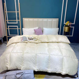 【轻盈入睡】花花公子羽绒被 保暖舒适 透气排湿 细腻锁绒 轻盈入睡 方格蓄暖