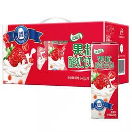 伊利果粒酸奶饮品245g*12