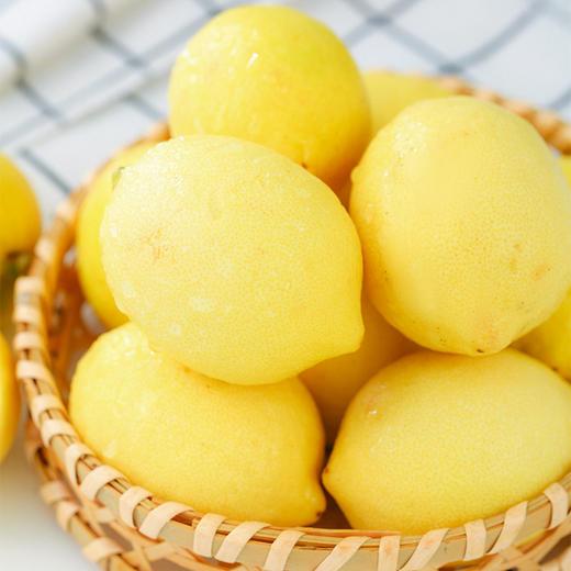 【酸爽一下】万州尤力克黄柠檬 淡淡橙味 高维C柠檬酸 皮薄多汁 新鲜直发 商品图4