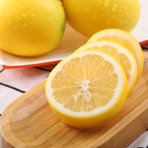 【酸爽一下】万州尤力克黄柠檬 淡淡橙味 高维C柠檬酸 皮薄多汁 新鲜直发 商品图2