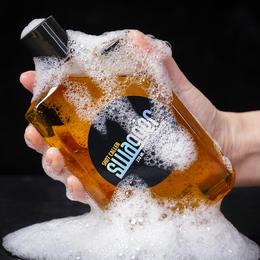 「威士忌男香沐浴露」韩国swagger施雅格男士香水沐浴露古龙清新木质烟草味持久留香型270ml/瓶
