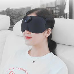 【智能睡眠眼罩 轻松入睡】麦莱诺智能睡眠眼罩,舒缓减压,改善睡眠,缓解疲劳 下单送酒精湿巾
