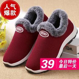 PDD-HZW201211加绒加厚运动鞋防滑保暖棉鞋TZF