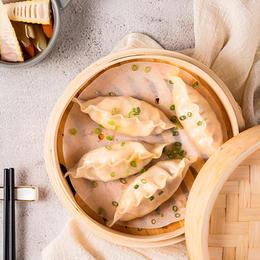 【蒸煮煎炸皆美味】必品阁王饺子|韩式风味|皮薄馅大|严选食材|多种口味可选