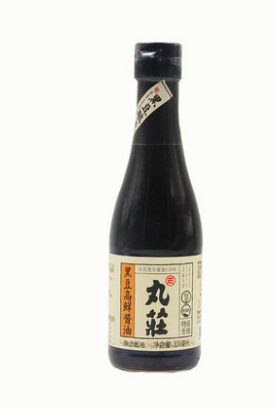 丸庄黑豆高鲜酱油300ML/瓶