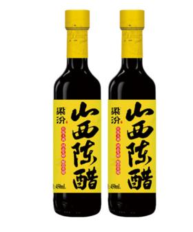 梁汾山西陈醋450ML/瓶