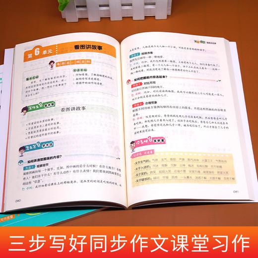 【开心图书】2-6年级上册小学生同步作文+限字作文 限时送价值25元教辅 商品图7