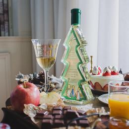 [圣诞树雷司令白葡萄酒]有颜有料  来自德国莱茵黑森的雷司令甜白 Auslese精选级别  500ml/瓶