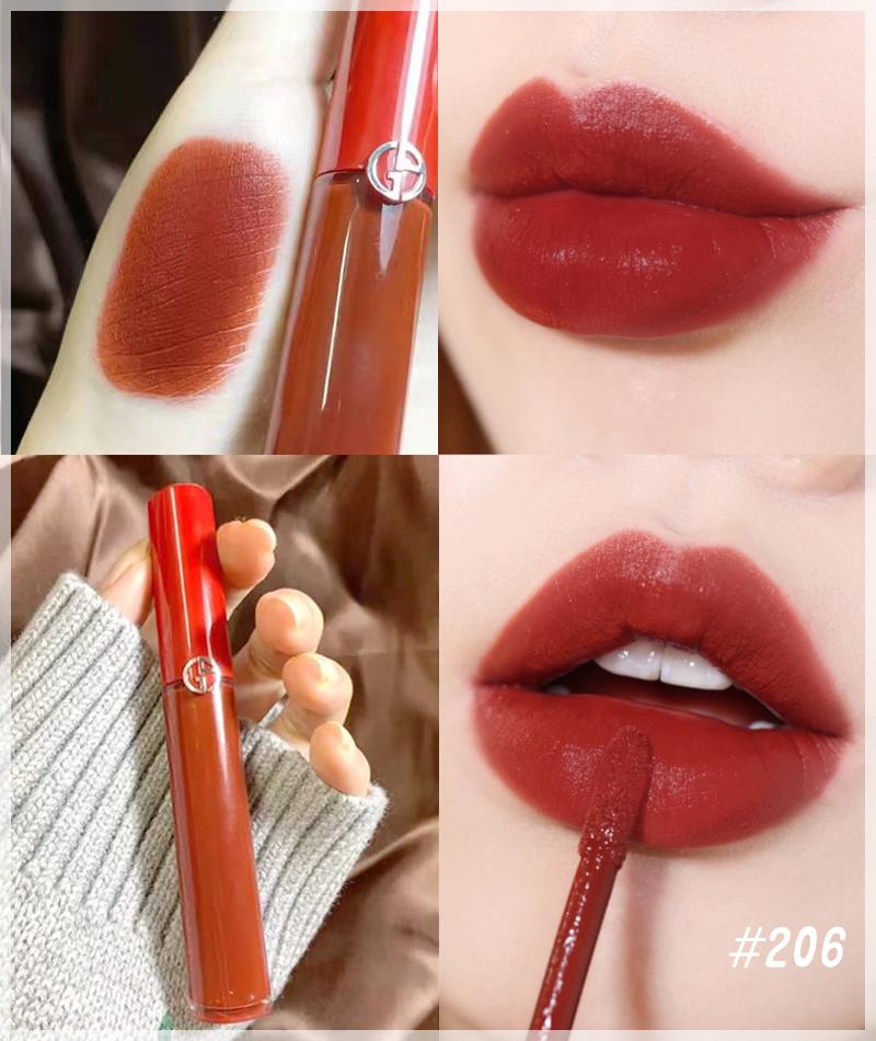 【全球名品·美丽笔记】秋冬热门的红棕色口红新色~黄皮也能用的那种