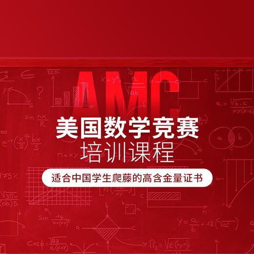 AMC美国数学竞赛·1对1线上直播课 商品图0
