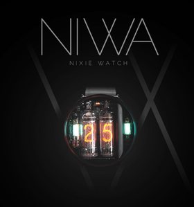 NIWA Nixie 2.0 辉光表 辉光管手表 潮玩 新奇特 蒸汽朋克风手表