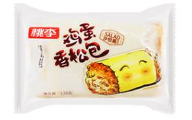 桃李鸡蛋香松包120g/袋