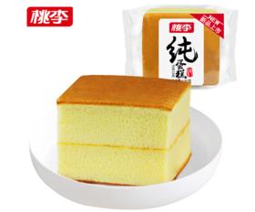 桃李纯蛋糕120g/袋