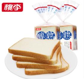 桃李醇熟切片面包(八片装)400g/袋
