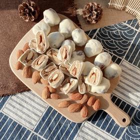买三送一实发4袋 [巴旦木奶酪枣]甜香软糯  细腻可口   125克/袋   3袋装