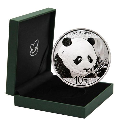 【熊猫币】2018年熊猫30克银币·中国人民银行发行 商品图5