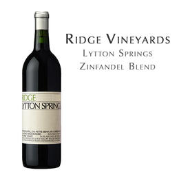 瑞园龙登泉红葡萄酒,美国 Ridge Lytton Springs Zinfandel Blend, USA Dry Creek Valley