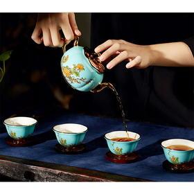 夫人瓷 套装茶具