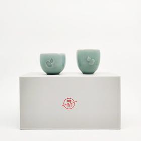 青瓷茶具套装*锦福