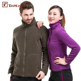 PDD-TTL210110新款男款女款户外加绒加厚保暖两面穿珊瑚绒外套TZF