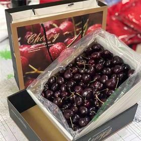 【预售1月17号配送 三环内】179元智利进口车厘子JJ级 2.5kg(5斤 净重)179元 礼盒装 果径约28-30mm  海运 新鲜水果礼盒