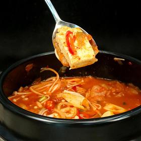 【5分钟get韩餐】必品阁韩式泡菜汤/炒年糕/部队火锅|汤酱分离|食材多样|浓郁鲜香|酸爽过瘾