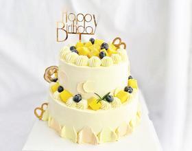 芒果时光·双层鲜果蛋糕
