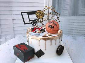 【男神】篮球男孩创意时尚生日蛋糕