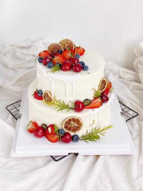 绿野仙踪·鲜果双层蛋糕