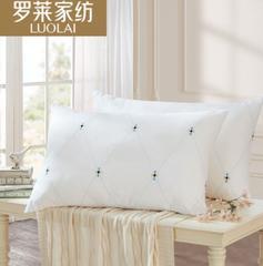 罗莱家纺依莎抗菌对枕!安心、柔软、轻盈 你对枕头的要求,都满足你!