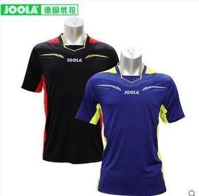 【特价】JOOLA/优拉伯爵696专业训练比赛乒乓球服短袖速干透气