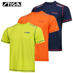STIGA斯帝卡乒乓球服CA-56斯蒂卡运动短袖文化衫透气T恤男女运动服