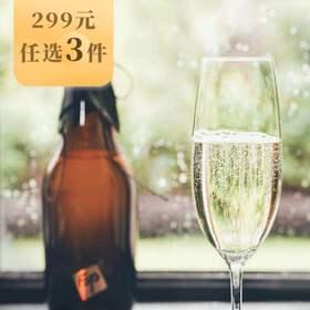 【299元选3件】[FOTO起泡米酒]入口醇香绵柔 580ml/瓶
