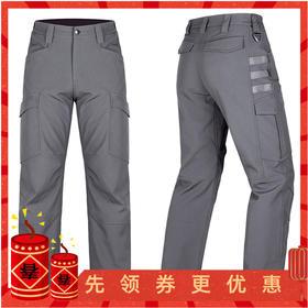 【多装载保暖方格绒】破峰软壳战术裤